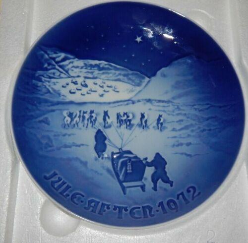 Alaska,  Iditarod, 1972 Commorative Wall Plate. Mint Conditon. Beautiful Details