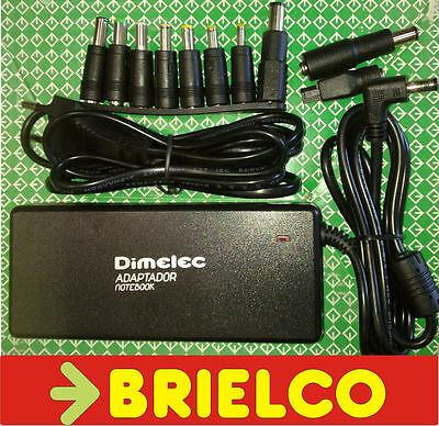 ALIMENTADOR CARGADOR ORDENADOR PORTATIL 90W 15-24VDC 10 CLAVIJAS SAL. USB BD6587