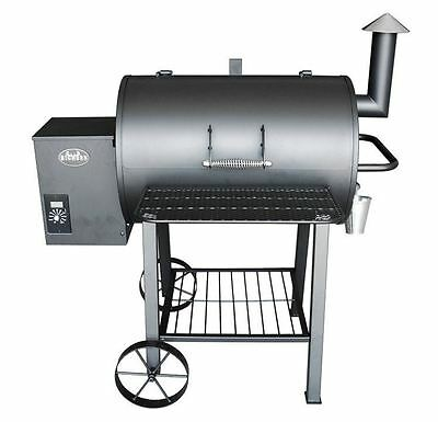 Wood Pellet Grill Smoker Best Electric On Sale BBQ Meat Kitchen Outdoor (Best Outdoor Kitchen Grills)