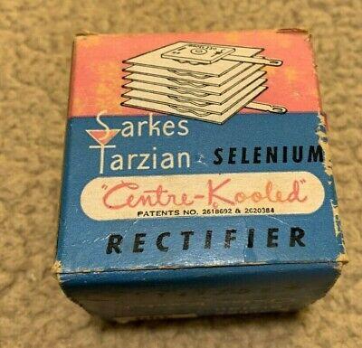 Sarkes Tarzian Selenium Rectifier Model 300... 130v 300ma With Original Box