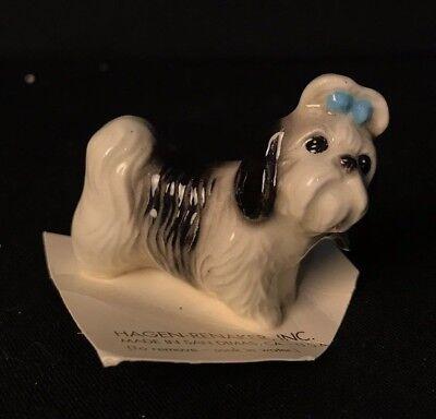 Used, HAGEN RENAKER Miniature Figurine Shih Tzu MANDY #02076 Carded ~YGF for sale  Sutter Creek