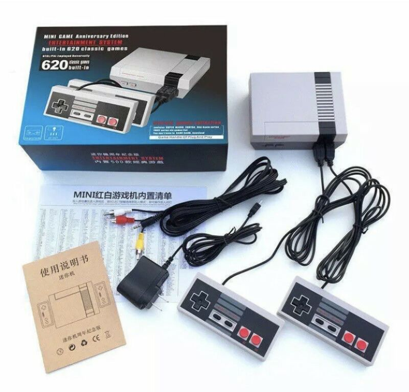 Nintendo NES Style Mini Classic with 620 Games Console (BRAND NEW) FREE SHIP NOW