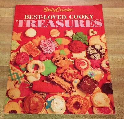 BETTY CROCKER - Best-Loved Cooky Treasures - Great Cookie Recipes! Great -