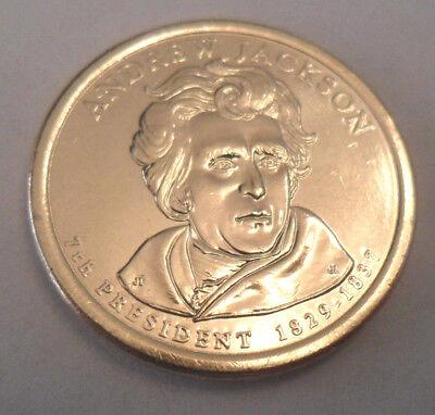 2008 D Andrew Jackson Presidential Dollar Coin  **FREE SHIPPING** (Free Presidential Dollar Coins)