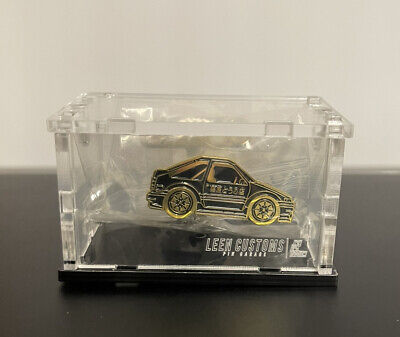 Leen Customs Pin Legends AE86 GOLD LE 25 #/25 Shock Release w/ Case/Stand