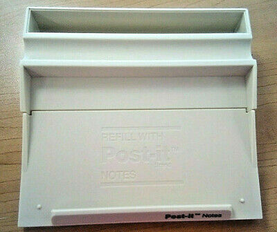 Vintage 3m Post-it Note And Pen Holder 3x5 Putty Pad Lock Design Weighted