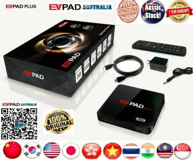2/32GB EVPAD PLUS VERSION DUAL WIFI BLUETOOTH IPTV TV BOX