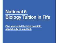 Biology Tutor Fife - National 5 Biology