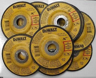 """Dewalt 4-1/2"""" x 1/8"""" x 7/8 Metal Cutting & Grinding Wheels DWA4511 10PCS"""
