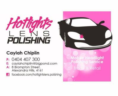 Hotlights Lens Polishing