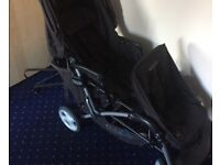 Graco double pushchair foldable