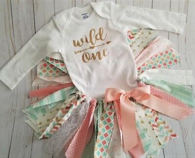1st Birthday Outfit Girl (First 1st Birthday Girl Outfit Tutu,