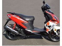 Longjia raptor 125 scooter