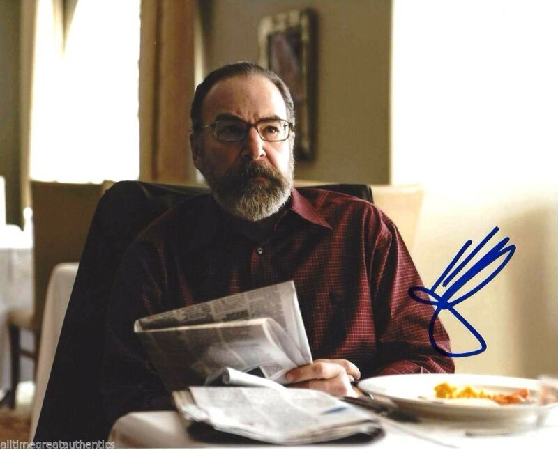 ACTOR MANDY PATINKIN SIGNED HOMELAND 8X10 PHOTO W/COA SAUL BERENSON D