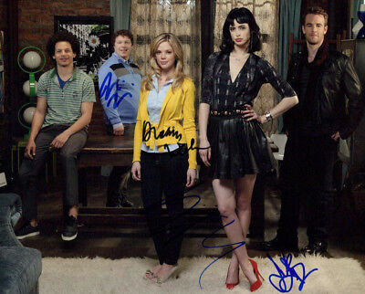 Don't Trust the B---- in Apartment 23 (by 4) signed authentic 8x10 photo (Don T Trust The B Apartment 23)