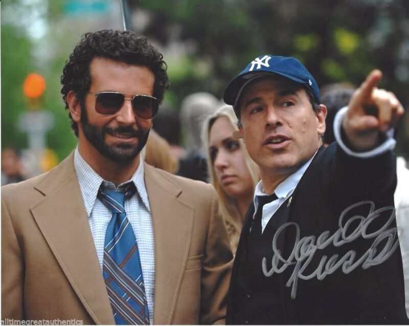 DIRECTOR DAVID O'RUSSELL SIGNED AMERICAN HUSTLE 8X10 PHOTO W/COA JOY THE FIGHTER
