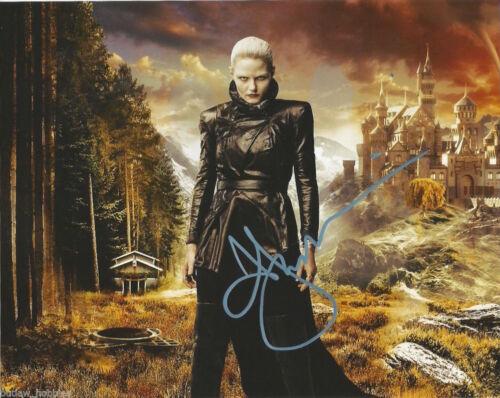Jennifer Morrison Once Upon A Time Autographed Signed 8x10 Photo COA B4
