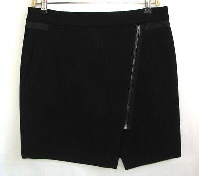 Comptoir des cotonniers - Wrap Skirt Model Polaceo Black T 38 - Ex. Condition