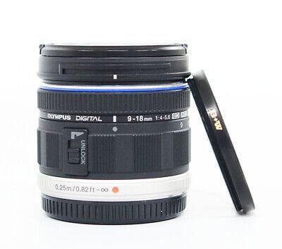 # Olympus M.Zuiko 9-18mm f/4.0-5.6 Aspherical ED Lens S/N 220411