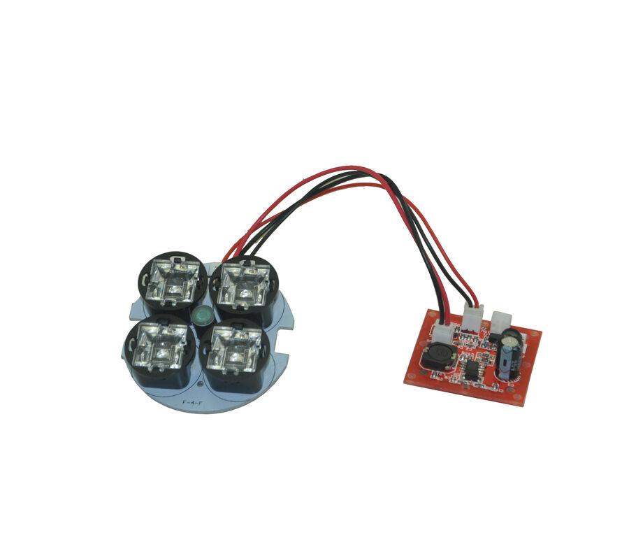 6 Nami Array Infrared IR LED Lamp CCTV Camera MTV Board Lens Night Vision Bulb