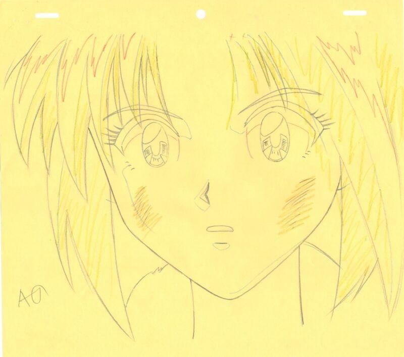 Anime Genga not Cel Rurouni Kenshin #10
