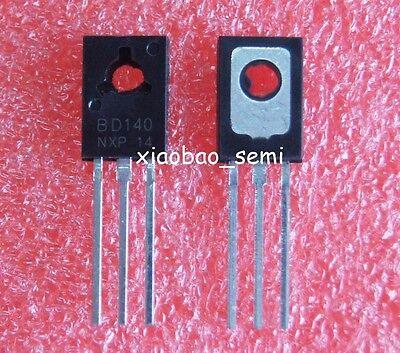 20pcs10pairs Bd139 Bd140 10pcs Bd140 10pcs Bd139 To-126 Power Transistors