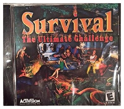 Survival The Ultimate Challenge Pc Brand New Win10 8 7 XP