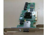 LSI Logic SAS3444E//IBM 25R8071 3GB 4-port PCI-E HBA SAS Controller Card Only.