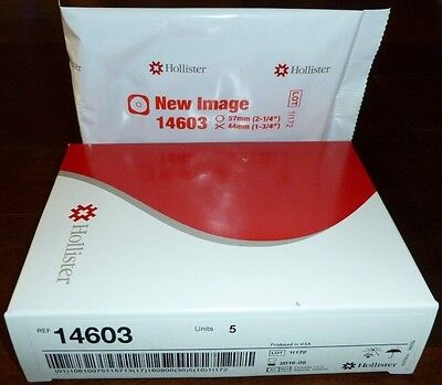 Hollister New ImageSkin Barrier #14603 - Floating Flange with Tape, 1 box of 5