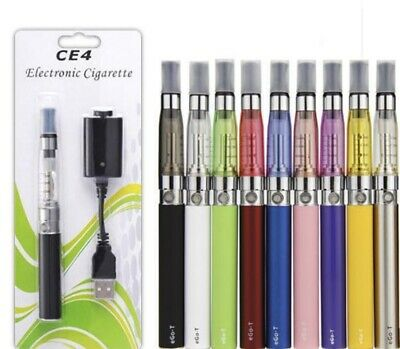 (2x)  *US SELLER* 1100 mAh E-CIG EGO-T STARTER KIT E-ATOMIZER USB CHARGER  for sale  Suwanee