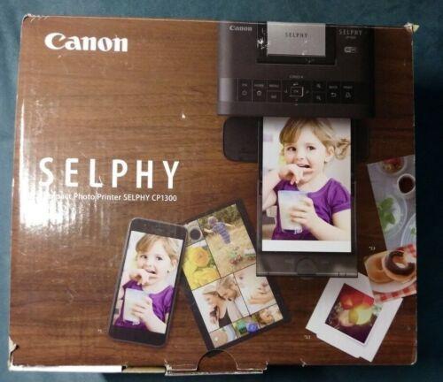 Canon SELPHY CP1300 Wireless Compact Photo Printer Black 2234C013