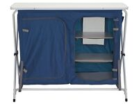 Portable Camping Storage Unit with Shelves NEW BOXED