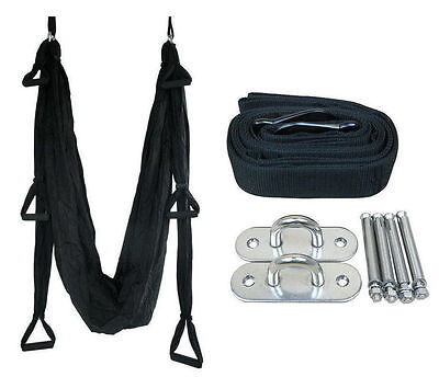 HOT Decompression Inversion Therapy Yoga Swing Hammock Complete set BY