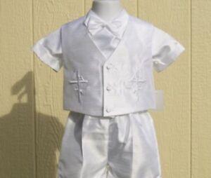 Baptism boys suit