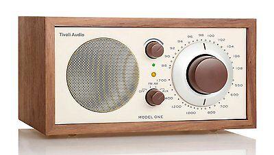 Tivoli Model One Radio Walnut/Beige AM/FM