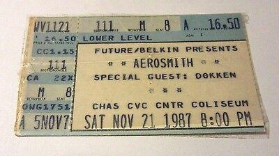 Aerosmith Dokken Charleston WV 1987