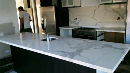 Bookmatch your kitchen benchtop. Beautiful and detailed.