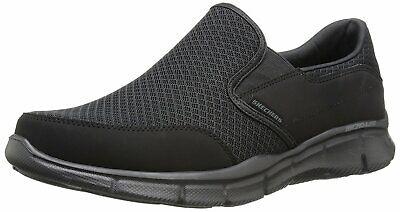 Skechers Men's Equalizer Persistent Slip-On Sneaker, Black,