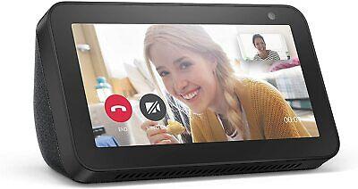 Brand New Amazon Echo Show 5 Compact Smart Display Alexa - BLACK- FREE SHIPPING!