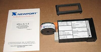 Newport 205-jc2rc0 Temperature Panel Meter With Mtx-jq2 Transmitter