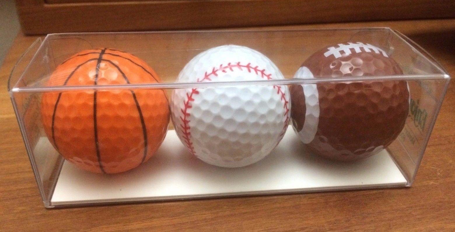 basketball baseball football golf balls sports fan