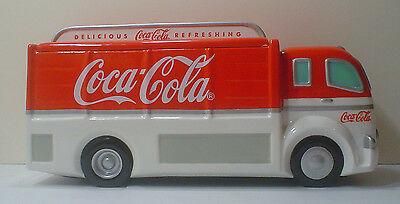 Coca-Cola Enesco Coke Delivery Truck Ceramic Cookie Jar ~ No Box