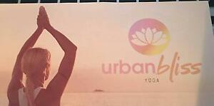 Urban Bliss Yoga Belrose 10  Class Pass- unwanted prize Belrose Warringah Area Preview