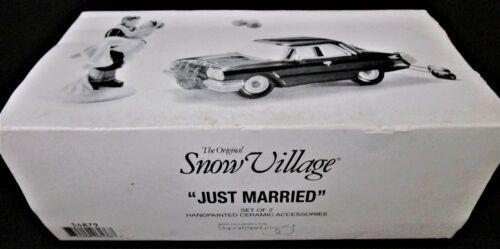 Dept 56 - Just Married - Snow Village -  #54879 - 100% MINT!