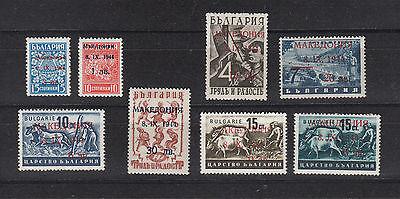 Mazedonien, Nr. 1-8, postfrisch