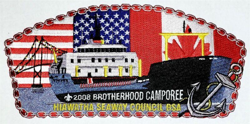 World Brotherhood Camporee 2008 Jacket Patch BSA BSC