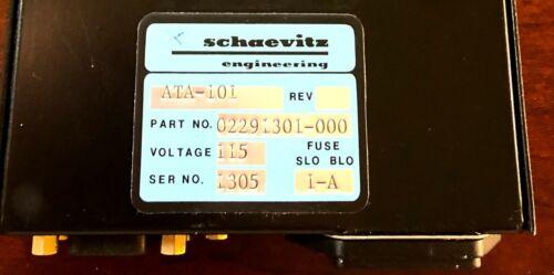 Lucas/Schaevitz MSI/Measurement  ATA-101 Analog Transducer Amp 02291301-000 BinC