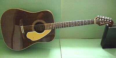 """VINTAGE FENDER """"NEWPORTER"""" ACOUSTIC GUITAR - EARLY 1980s RE-ISSUE"""
