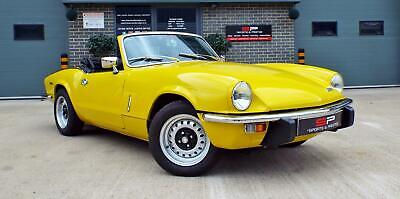 1972 Triumph Spitfire Mark IV - Mimosa Yellow