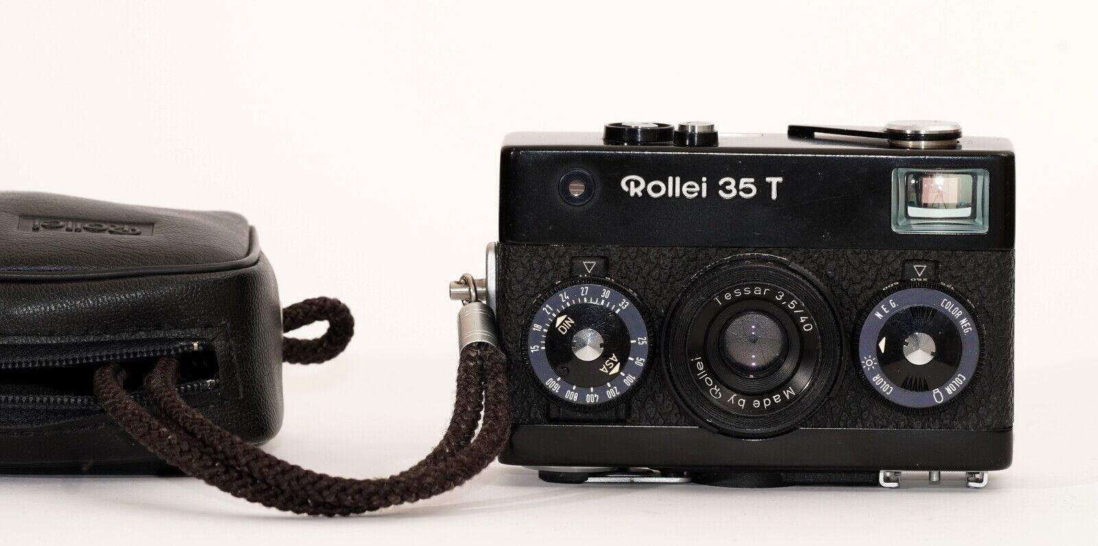 Sucherkamera Rollei 35 T #6414135, frisch aus dem Service und umgerüstet
